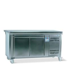 Comptoir de distribution neutre, avec réfrigération