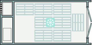 Unité de réfrigération / congélation 6m
