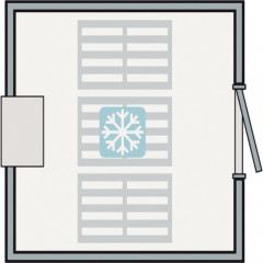 Unité de réfrigération / congélation 3m